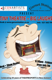 Tiny Theatre big laughs V05