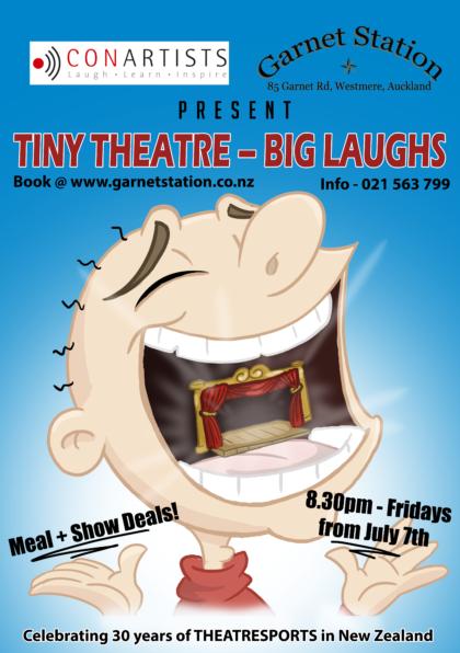 Tiny Theatre big laughs V06