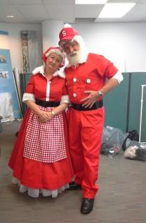 Mrs Claus & Santa